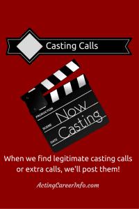 Open Casting Info
